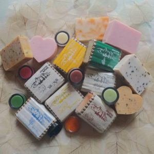 Colorful soaps are perfect for a Christmas gift idea