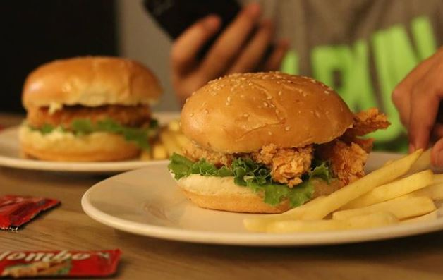 Chicken Station, serving one of the best burgers in lalitpur