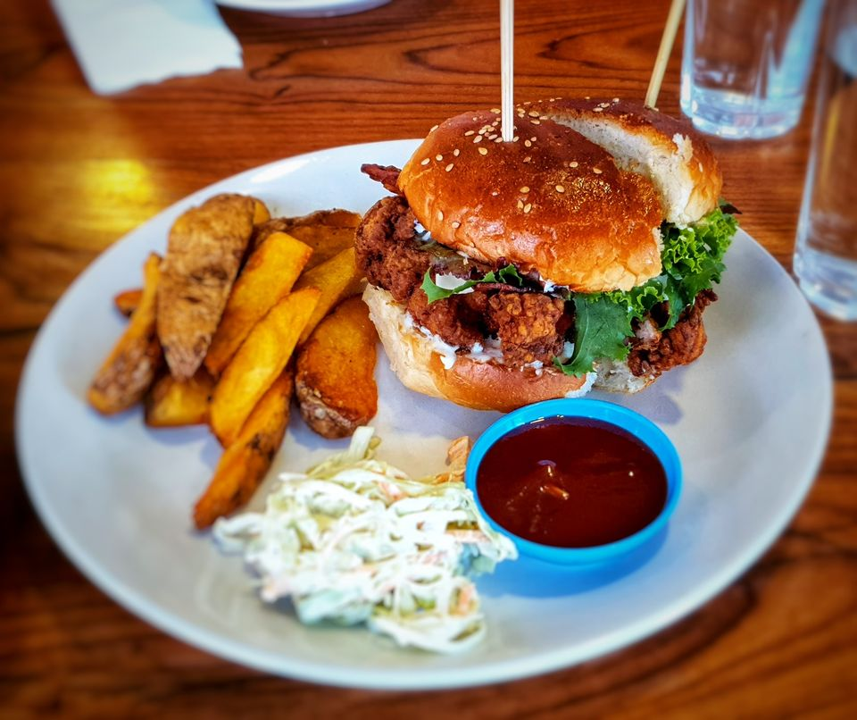 visit cafe soma for one of the best burgers in lalitpur