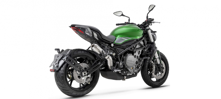 Benelii 752s rear, Benelli 752s launches in Nepal